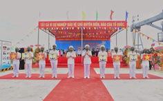 Vùng 5 Hải quân làm lễ thượng cờ 4 tàu vận tải đa năng RoRo5612