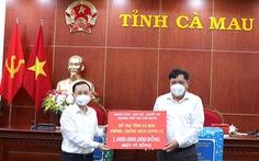 TP.HCM hỗ trợ 1 tỉ đồng cho Cà Mau chống dịch COVID-19