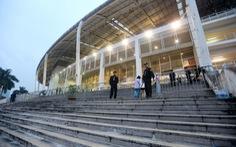 Chậm nộp tiền thuê đất, Khu liên hợp thể thao quốc gia bị phong tỏa tài khoản