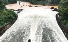 Quảng Nam: 16h hôm nay, hồ Phú Ninh xả điều tiết nước từ 400-1.000m3/s