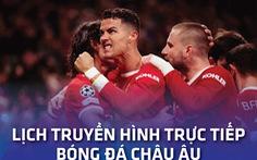 Lịch trực tiếp bóng đá châu Âu ngày 24-10: Man United - Liverpool, Barca - RM