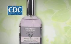 Mỹ phát hiện vi khuẩn gây bệnh Whitmore trong bình xịt phòng