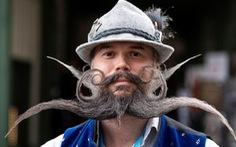 Chủ nhân các bộ râu, ria đẹp nhất thế giới tụ hội ở Đức