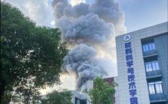 Nổ lớn ở viện nghiên cứu quốc phòng hàng đầu Trung Quốc, 9 người thương vong
