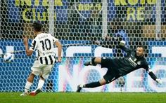 Dybala ghi bàn từ chấm phạt đền, cứu Juve khỏi thất bại trước Inter Milan