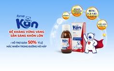 Chủ động bảo vệ sức khỏe bé thời điểm giao mùa với siro Kan