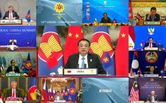 Thủ tướng Trung Quốc nêu loạt cam kết tại hội nghị với ASEAN
