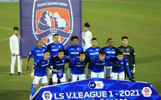 CLB Than Quảng Ninh không được dự V-League 2022