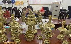 Bắt băng nhóm trộm cắp đồ thờ cúng ở quận Tân Bình