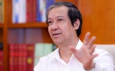 Bộ trưởng Bộ Giáo dục - đào tạo Nguyễn Kim Sơn: Thay đổi, chuyển đổi, thích ứng