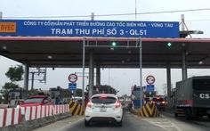 Từ 5-10, thu phí trở lại trạm QL51 trên cao tốc TP.HCM - Long Thành - Dầu Giây