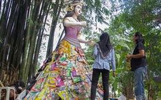 Indonesia lập bảo tàng bằng rác thải nhựa