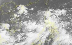 Chiều tối 5-10, vùng áp thấp vào Biển Đông, miền Trung mưa lớn