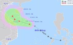 Áp thấp nhiệt đới áp sát Hoàng Sa, miền Trung có nơi mưa trên 600mm/đợt