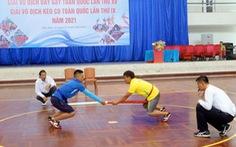Đại hội thể thao toàn quốc 2022 cân nhắc đưa bắn nỏ, kéo co, đẩy gậy… vào thi đấu chính thức