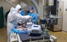 Lần đầu tiên can thiệp nội mạch cấp cứu bệnh nhân COVID-19 bị ho ra máu nặng