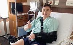 Thủ môn Đặng Văn Lâm đã phẫu thuật thành công chấn thương vai