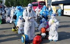 Đồng Nai đón 2.345 dân ở TP.HCM và Bình Dương về quê nhà vào sáng 9-10