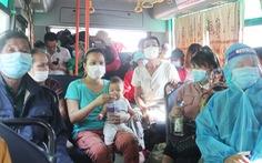 Nghệ An điều xe buýt, xe khách chở người dân về quê