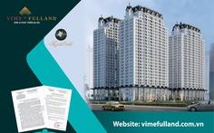 Chung cư HH3 dự án The Jade Orchid, thương hiệu Vimefulland đủ điều kiện bán hàng