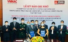 Ký bản ghi nhớ hợp tác khắc phục hậu quả bom mìn sau chiến tranh