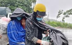 'Thành phố Quảng Ngãi mong đón bà con khi mệt dừng lại nghỉ ngơi, làm ấm mình'