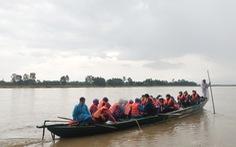 Miền Trung mưa lớn, nước sông dâng cao, nhiều nơi bị ngập