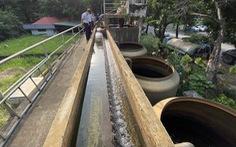 Tìm nguyên nhân nước sạch 'vàng khè', có giun ở khu đô thị Pháp Vân - Tứ Hiệp