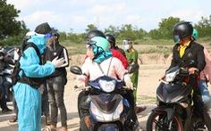 Ninh Thuận không xử phạt người đi xe máy về quê