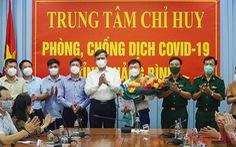 Quảng Bình cử đoàn y tế sang giúp Lào chống dịch COVID-19