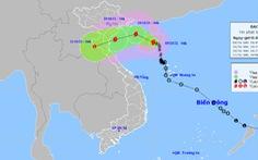 Bão số 7 vào biển Việt Nam sáng 10-10, sóng to, mưa lớn trên biển từ Bắc chí Nam