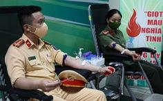 Công an Hà Nội ra mắt 65 câu lạc bộ phản ứng nhanh hiến máu tình nguyện
