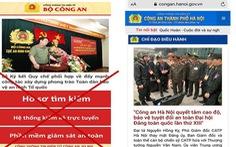 Giả mạo Cổng thông tin điện tử Công an Hà Nội, lừa đảo người dân 4 tỉ đồng