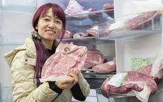Một phụ nữ nông thôn Nhật Bản phát tài nhờ bán thịt bò trực tuyến