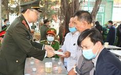 Truy tặng bằng khen cho trung tá công an hi sinh khi đánh án ma túy ở Mường Lát