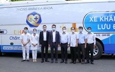 Sở Y tế TP.HCM được tặng xe lưu động lấy mẫu và xét nghiệm nhanh COVID-19