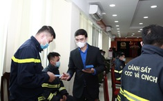 Trung ương Đoàn chúc Tết cán bộ, chiến sĩ phòng cháy chữa cháy