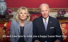 Tổng thống Joe Biden chúc Tết, mong năm con trâu thịnh vượng và sức khỏe