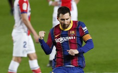 Hai lần sút xa ghi bàn đẹp mắt, Messi giúp Barca 'vùi dập' Alaves