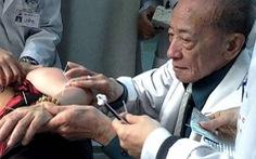Vĩnh biệt GS Nguyễn Tài Thu - bậc thầy khai sinh kỹ thuật châm cứu bằng kim to