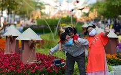 Đường hoa Nguyễn Huệ đón hơn 81.400 lượt khách dịp tết
