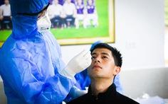 CLB Hà Nội trở lại tập luyện, xét nghiệm COVID-19 cho toàn bộ cầu thủ