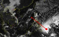 Biển Đông có thể đón bão trong 3 ngày tới