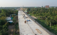 Đồng loạt ra quân đầu xuân xây dựng cầu Mỹ Thuận 2