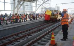 Bắt đầu kéo cáp điện cho toàn tuyến metro số 1 Bến Thành - Suối Tiên