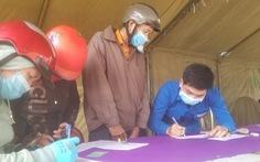 Bình Định thông báo khẩn tìm hành khách đi xe Tân Xuân Phúc về từ TP.HCM