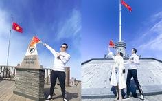 Cặp đôi đầu tiên đại diện cho tổ chức BSSC chinh phục đỉnh Fansipan
