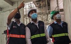 Hoạt động phòng chống dịch COVID tại các công trường xây dựng
