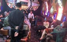 Từ Hà Nội, Bắc Giang vào Hà Tĩnh chơi ma túy trong quán karaoke