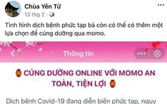 Giáo hội Phật giáo Việt Nam thử nghiệm cúng dường qua ví điện tử là thật, không phải giả mạo